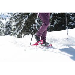 女款超保暖雪地健行中筒鞋SH520-黑色