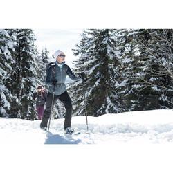 Women's Warm Water-repellent Snow Hiking Pants SH500 X-Warm