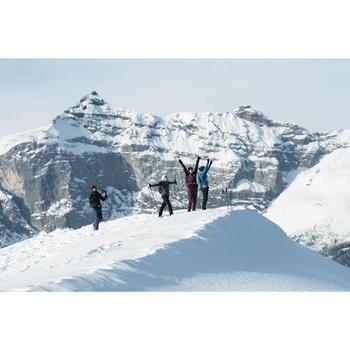 Pantalon de randonnée neige femme SH500 x-warm stretch - 1491203