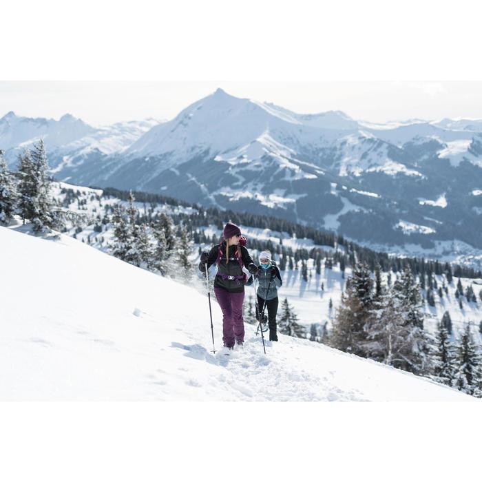Winterschuhe Winterwandern SH520 Extra-Warm Damen schwarz