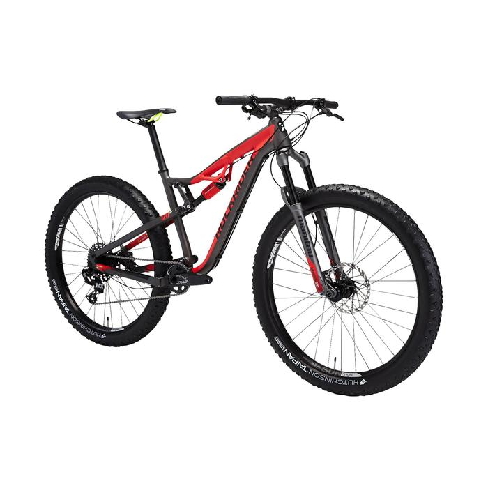 """VTT XC 100 S 27,5"""" PLUS noir et rouge - 1491207"""