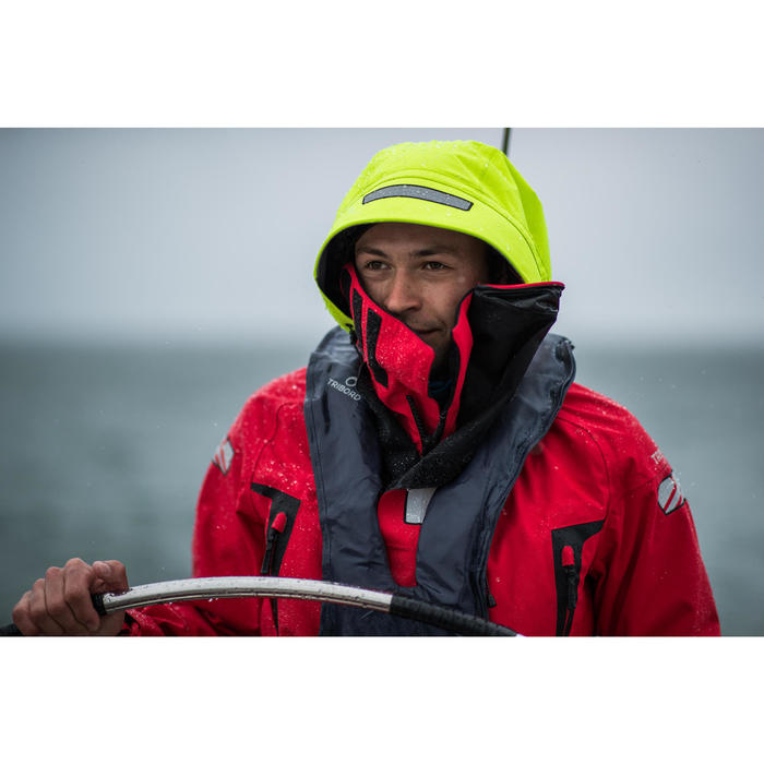 Chaqueta de guardia hombre Ocean 900 rojo