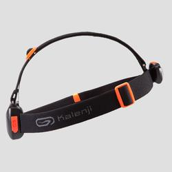 LAMPE FRONTALE DE TRAIL RUNNING ONNIGHT 250 NOIR ORANGE - 160 LUMENS