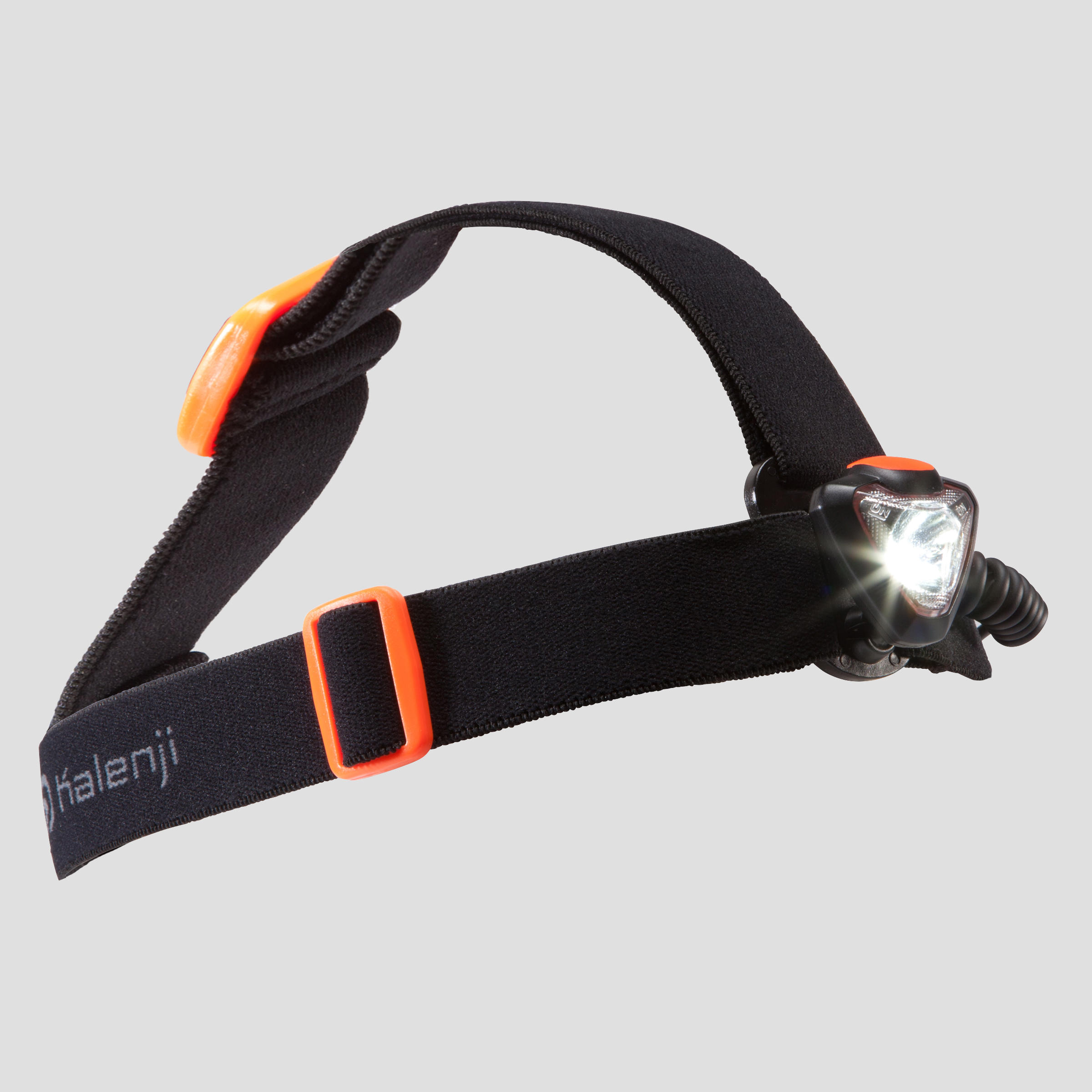LAMPE FRONTALE COURSE SUR SENTIER ONNIGHT 410 NOIR/ORANGE - 160 LUMENS
