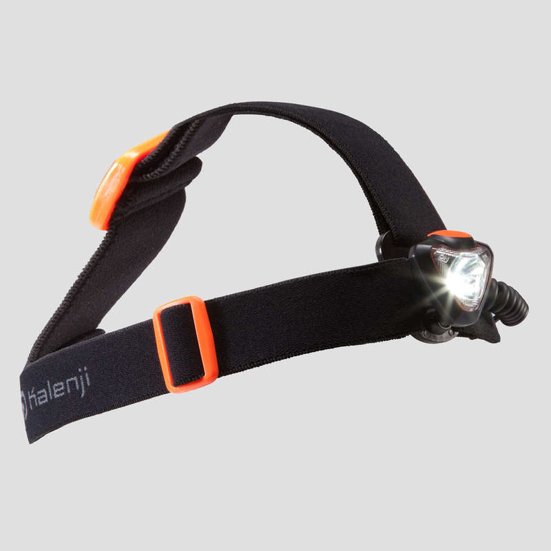 TRAIL RUNNING EQUIPMENT Trail Running - ONNIGHT 250 HEAD TORCH ORANGE EVADICT - Trail Running