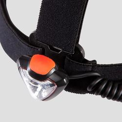 LAMPE FRONTALE TRAIL RUNNING ONNIGHT 250 NOIR ORANGE - 160 LUMENS