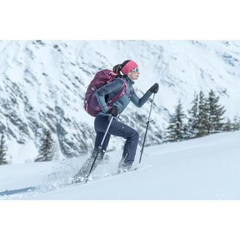 Dames wandelbroek voor de sneeuw SH900 warm blauw