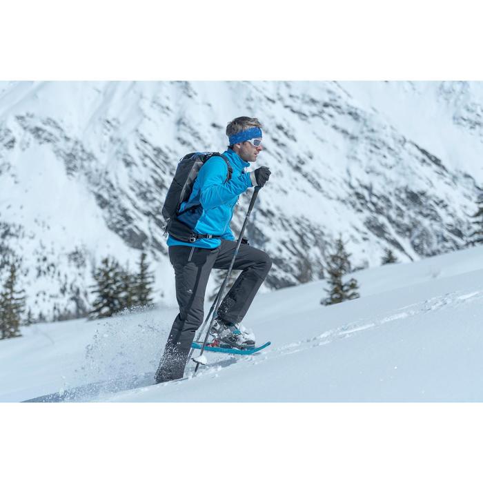 Botas de senderismo nieve hombre SH920 x-warm high gris.