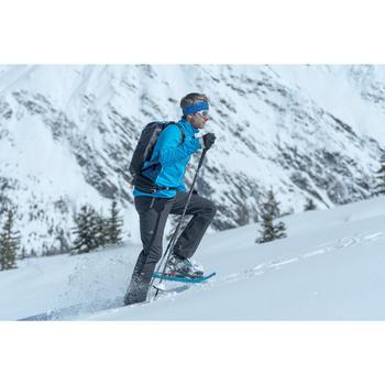 Pantalon de randonnée neige homme SH900 warm noir.