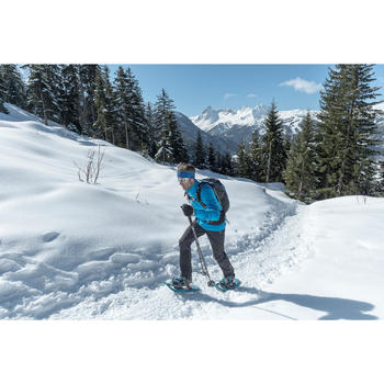 Winterstiefel Winterwandern SH920 X-Warm wasserdicht Herren blau