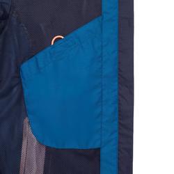 Chaqueta impermeable de vela mujer SAILING 100 azul azul