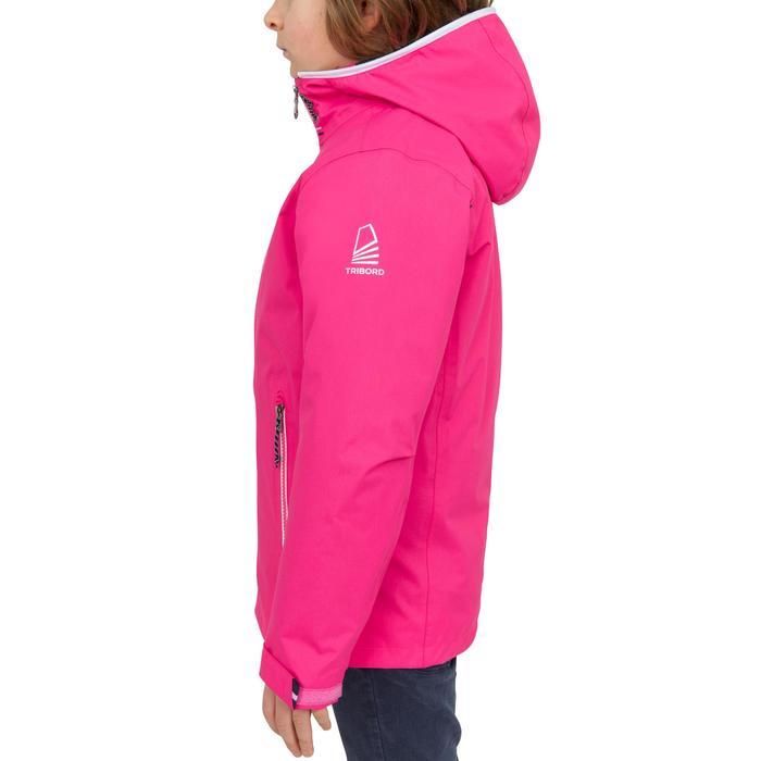 Chubasquero impermeable de vela niños 100 rosa intenso