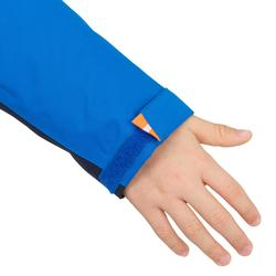 兒童款防水航海雨衣100-藍色