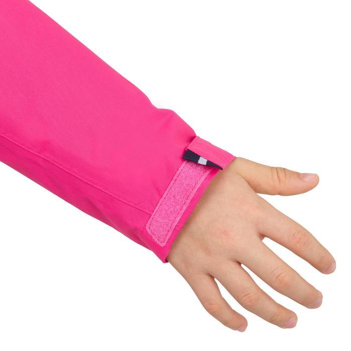 Chubasquero impermeable de vela júnior 100 rosa intenso