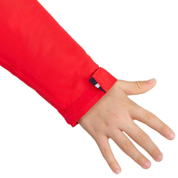 Chubasquero impermeable de vela niños 100 rojo