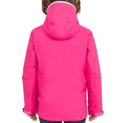 Segeljacke 100 wasserdicht Kinder pink