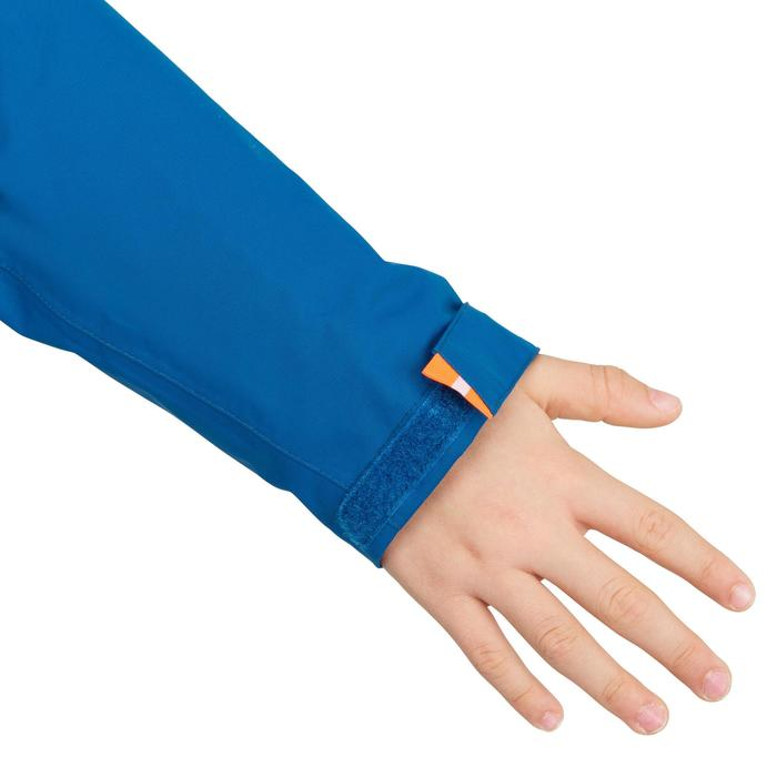 Chubasquero impermeable de vela niños 100 azul