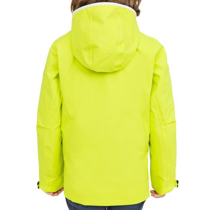Chubasquero impermeable de vela niños 100 amarillo