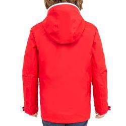 100 Kids' Waterproof Sailing Oilskin - Red