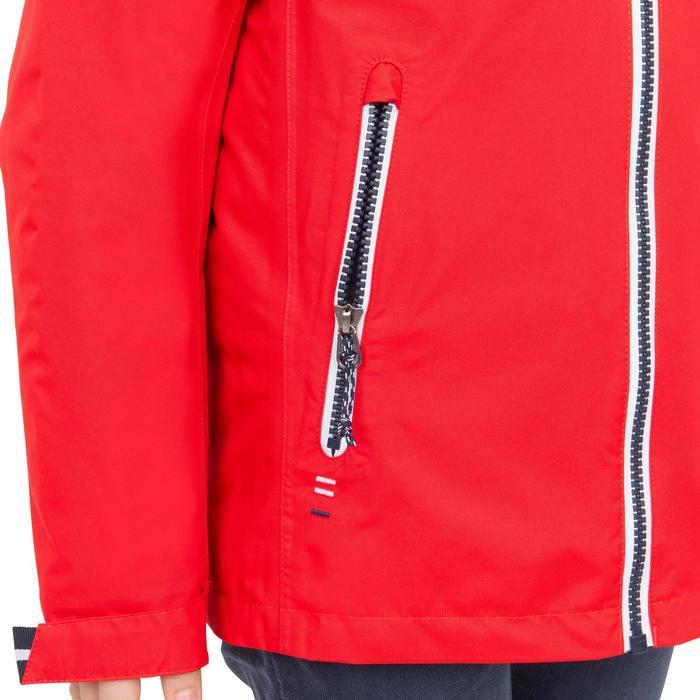兒童款防水航海雨衣100-紅色