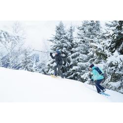 3-in-1-Jacke Winterwandern SH500 X-Warm Kinder Jungen blau