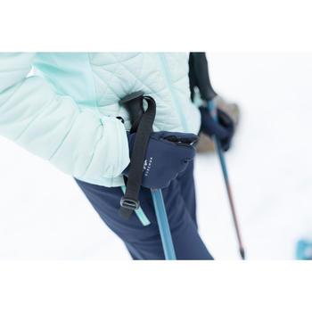 Gants stretch de randonnée junior SH500 bleus