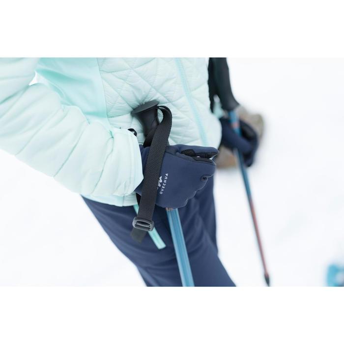 Stretch wandelhandschoenen voor kinderen MH500 blauw