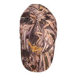 Casquette éclairante chasse 500 led camouflage marais