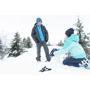 Pantalon de randonnée neige junior SH500 x-warm gris