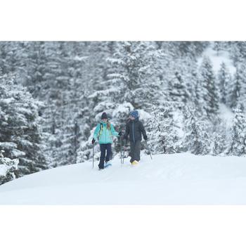 Wandelbroek voor de sneeuw meisjes SH500 X-Warm 7-15 jaar blauw