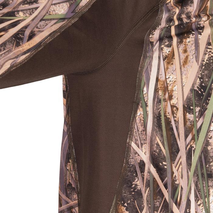 Jagd-Langarmshirt 500 Camouflage Schilf