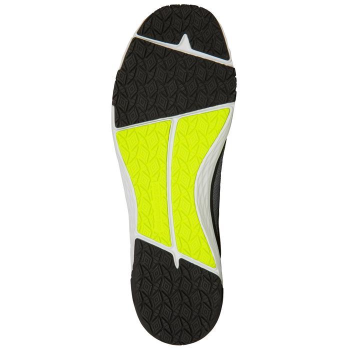 Dekschoenen voor dames/heren die wedstrijdzeilen Race grijs-geel