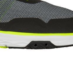 Bootschoenen voor dames en heren die wedstrijdzeilen Race grijs/geel
