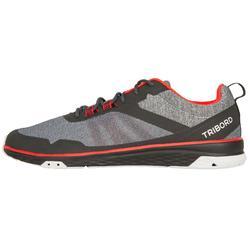 Chaussures de régate bateau mixte Race noir rouge