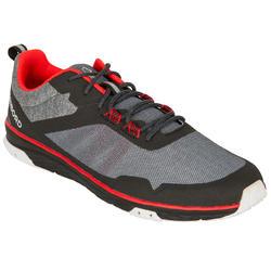 Zapatillas de regata barco mixtas Race negro rojo