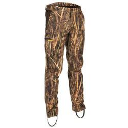 Pantaloni caccia leggeri 500 motivo mimetico canneto