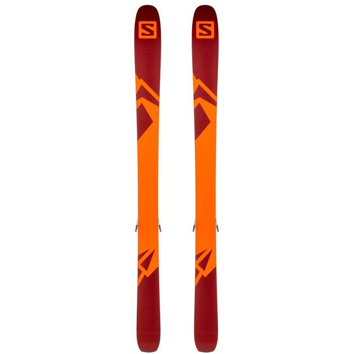 Ski-Set Freeride QST 106 Warden 11 bordeaux