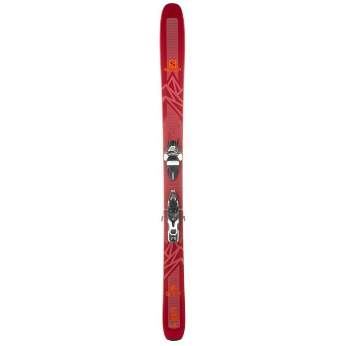 PACK SKIS FREERIDE SALOMON QST 106 WARDEN 11 BORDEAUX