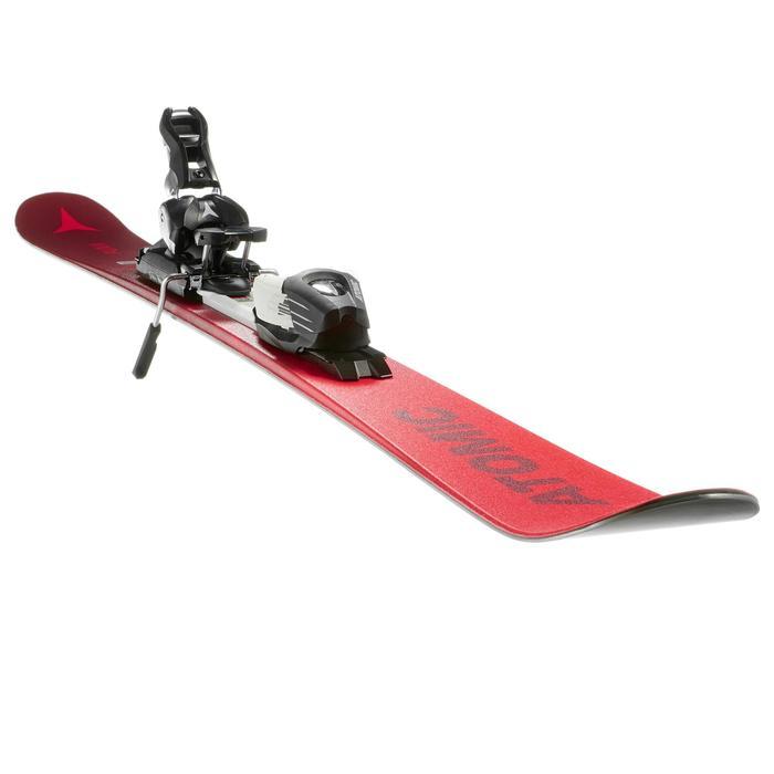 Freestyle freeride ski's voor kinderen Atomic Punx III rood