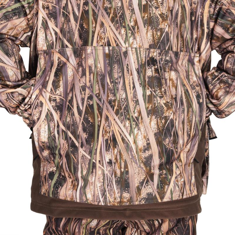 65635c5a8f720 500 warm and waterproof hunting jacket with wetlands camouflage ...