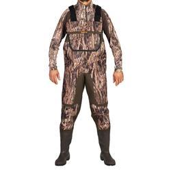Wathose 500 Duck Camouflage Schilftarn