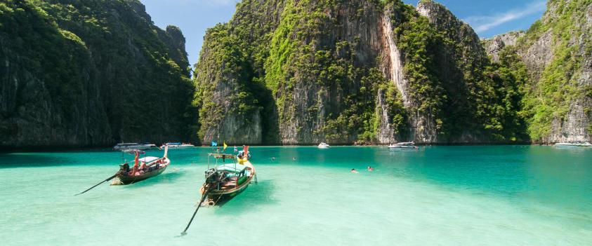 scuba diving snorkeling spot subea koh phi phi thailand