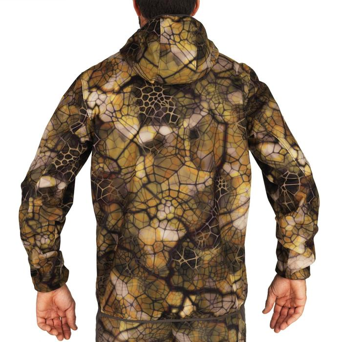 Waterdichte geluidloze camouflagejas voor de jacht 500 Furtiv