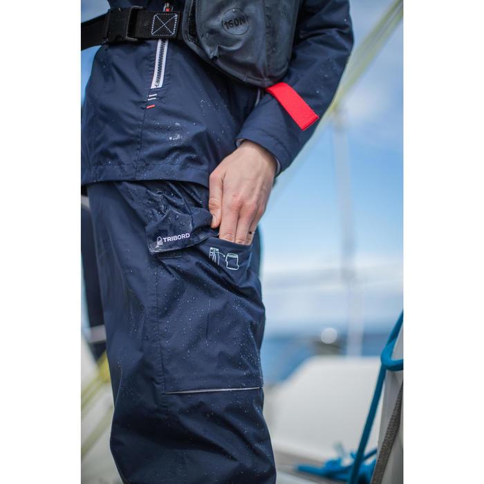 Zeilbroek voor dames Sailing 100 marineblauw