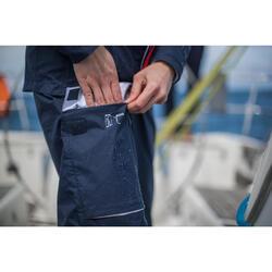 Waterdichte overbroek Sailing 100 voor heren marineblauw