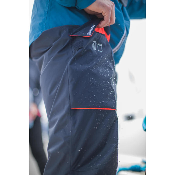 Men's Sailing Waterproof Overtrousers SAILING 100 Navy