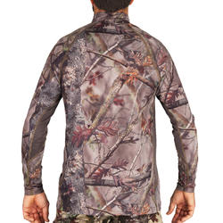 ACTIKAM 500 BREATHABLE LONG-SLEEVED SILENT HUNTING SHIRT CAMO BROWN