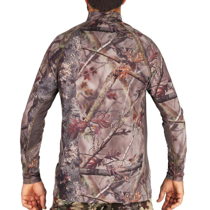 ACTIKAM 500 BREATHABLE LONG SLEEVE SILENT HUNTING T-SHIRT CAMO BROWN
