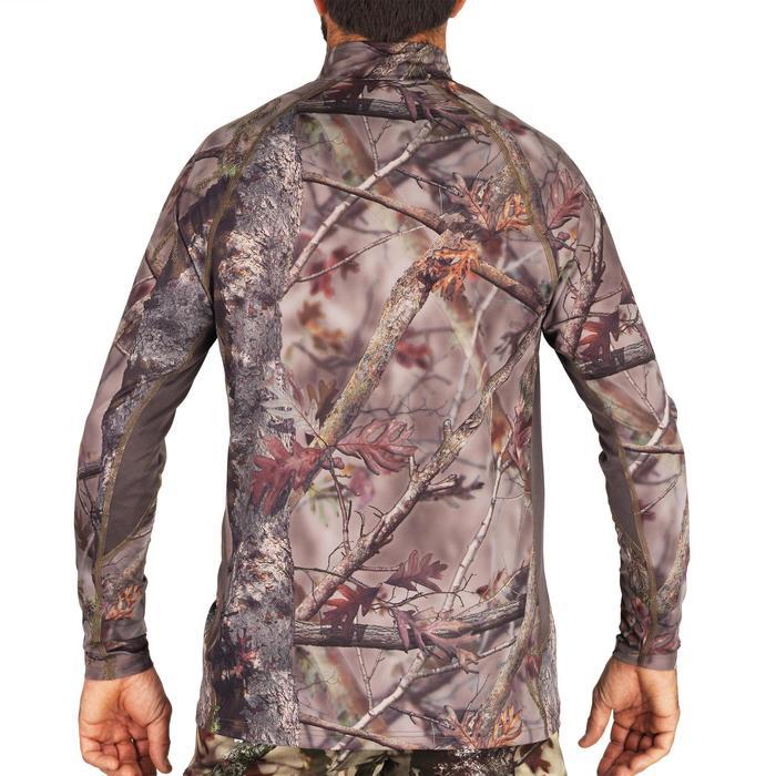 Ademend geluidloos camouflageshirt voor de jacht 500 bos
