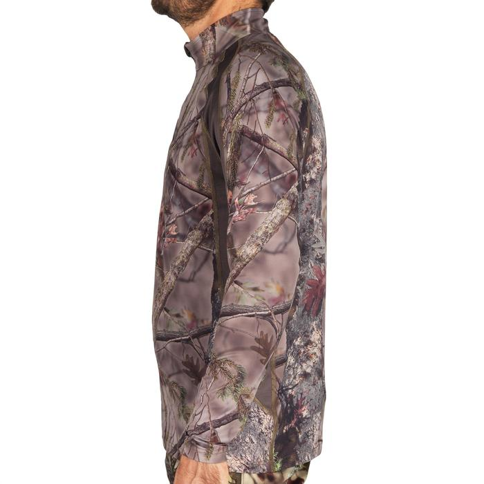 Camiseta Caza Solognac Bgs 500 Silenciosa Transpirable Camuflaje Marrón